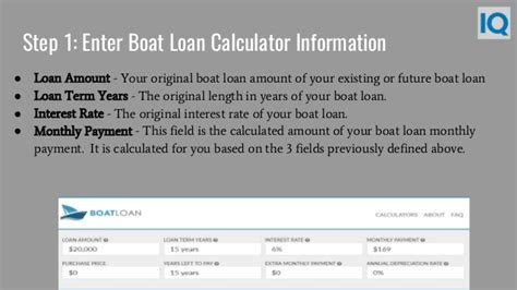 Boat Financing Term by Boat Loan Calculator Boat Loan Payment Calculator
