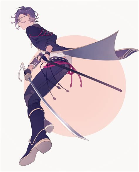 Anime Picture Touken Ranbu Nitroplus Akashi Kuniyuki O