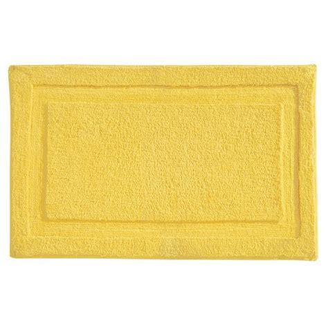 yellow bath rugs interdesign microfiber spa bathroom accent rug 34 x 21