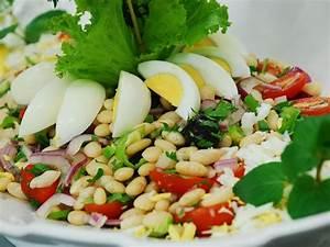 Gekochte Eier Dekorieren : bohnen salat mediterrane gerichte ~ Markanthonyermac.com Haus und Dekorationen