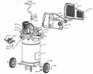 Sears Craftsman 921 16474 Air Compressor Parts  Craftsman