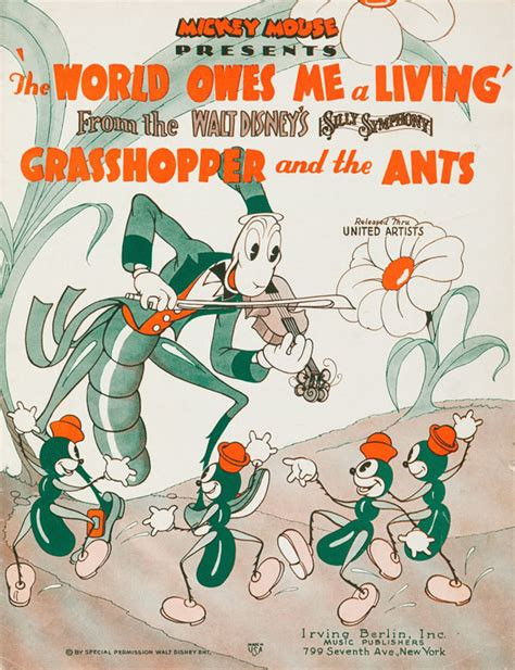 disney s the grasshopper and the ants 1934