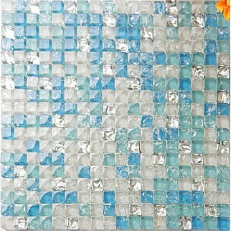green kitchen tile backsplash sea blue tile backsplash glass mosaic crackle