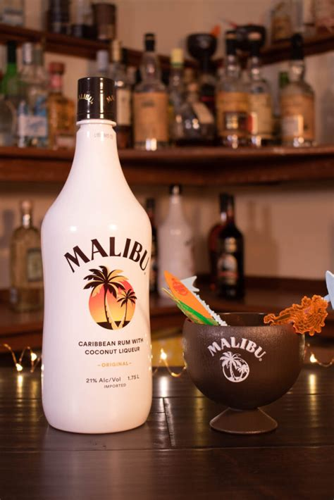 We're back with another video on how to make cocktails at home. Malibu Coconut Rum - First Pour Cocktails