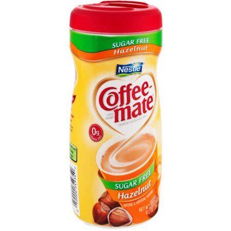 It's free and fun to join. Coffee-mate Sugar Free Hazelnut Powder Coffee Creamer, 10 ...