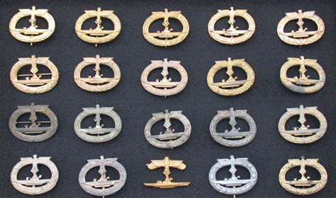 Boat Us Gold Membership by U Boat Badges Germany Third Reich Wehrmacht Medals