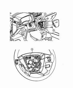 2009 Chrysler Pt Cruiser Wheel  Steering  Trim   All Trim
