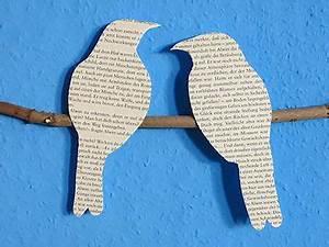 Vögel Basteln Zum Aufhängen : diy wandbild vogel silhoetten tutorial wohnideen vogel silhouette diy deko und v gel ~ A.2002-acura-tl-radio.info Haus und Dekorationen