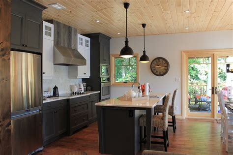 cottage kitchen remodel classic bass lake cottage 2658