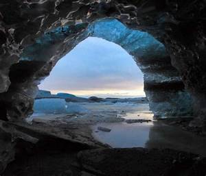 Blue Ice Cave - Iceland | The Great Outdoors | Pinterest
