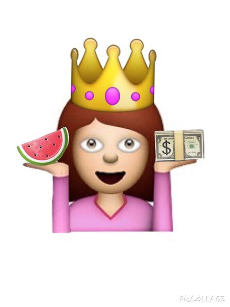 Crown, Watermelon, And Emoji