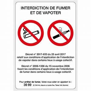 Panneau Interdiction De Fumer : panneau interdiction de fumer et vapoter sin200 ~ Melissatoandfro.com Idées de Décoration