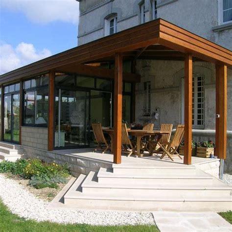 tableau en verre pour cuisine veranda comparatif matériaux veranda bois acier pvc et alu