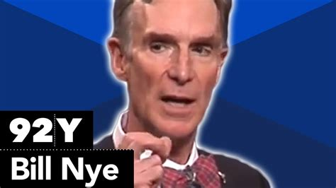 """Bill Nye """"the Science Guy"""" Evolution And The Science Of Creation Youtube"""