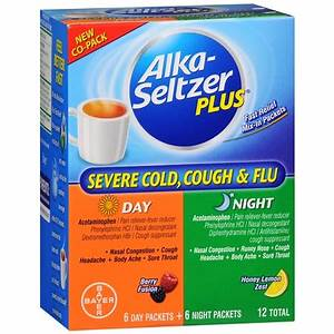 Alka-Seltzer Plus Severe Cold and Flu Day and Night Powder ...