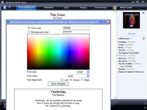 Windows Media Player Lyrics Plugin How To Use Bogetu