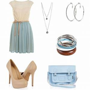 """Blue Dress Outfit"" by nicoleewalsh on Polyvore 