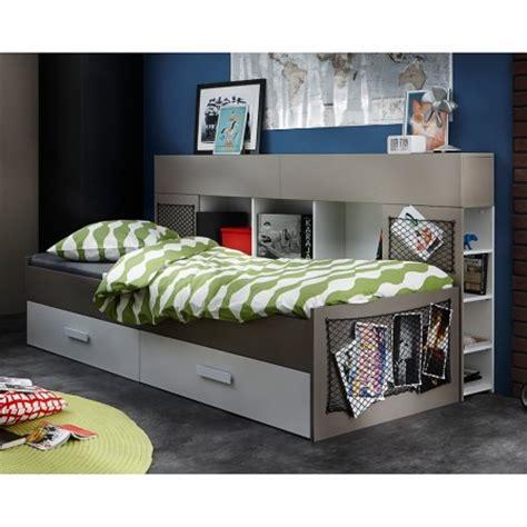 lit mezzanine ado avec bureau et rangement lit ado lit et mobilier chambre ado lit pour adolescent