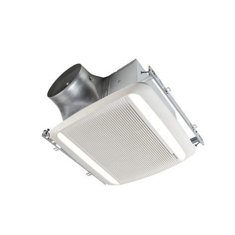 Bathroom Exhaust Fan With Led Light by Broan Ultra Green Xb Series 80 Cfm Ceiling Bathroom