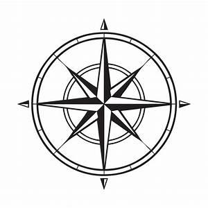 Compass Clip Art Outline - ClipArt Best