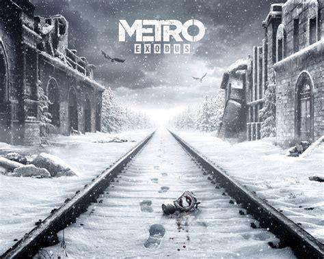 wallpaper metro exodus     games