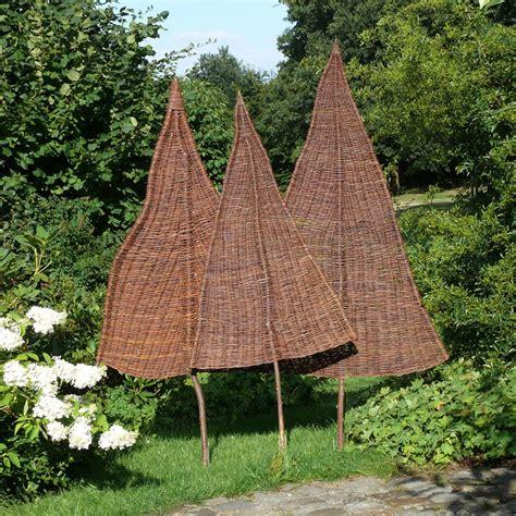 Sichtschutz Garten Geflochten by Sichtschutzzaun Weide Sichtschutz Geflochten Sichtschutz