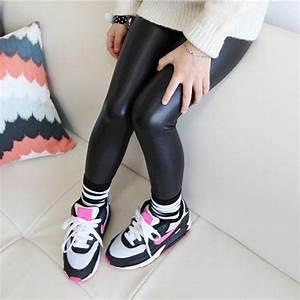 Baby Girl Legging 2016 Fashion Full Length Leggings Faux ...