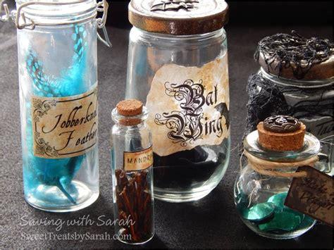 Harry Potter Potion Bottles Diy Free Printable