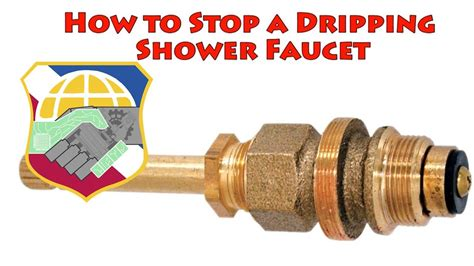 stop  dripping shower faucet repair leaky