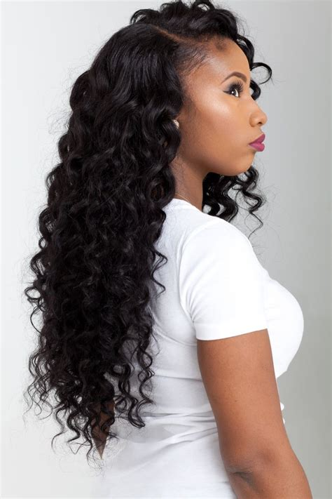 virgin peruvian deep wave deep curl platinum dream hair