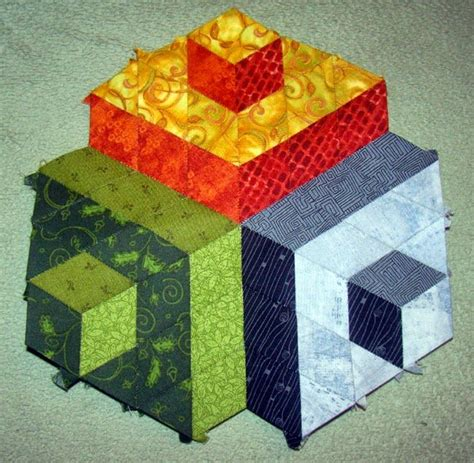 tumbling block quilt pattern template 252 best images about quilts tumbling blocks other