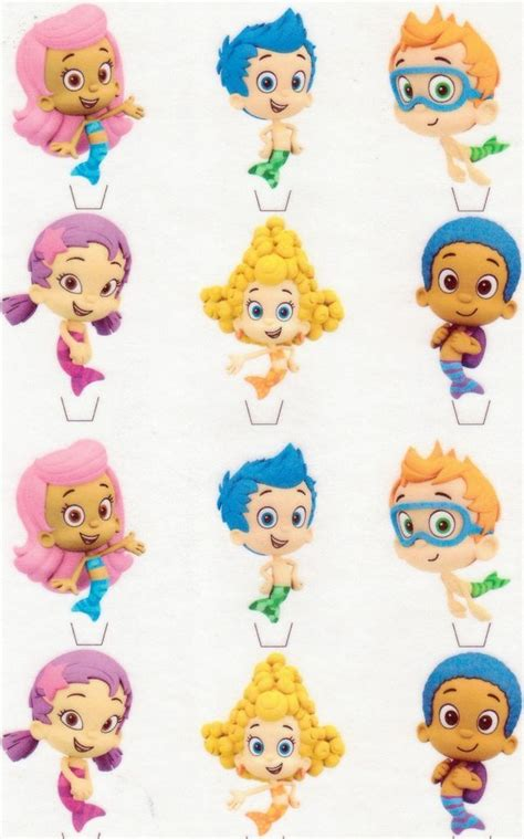 guppies cupcake decorations 25 best ideas about guppies cake toppers on