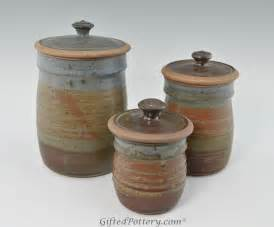 pottery kitchen canisters pottery ceramics