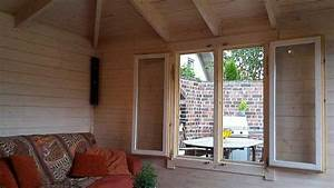 Gartenhaus Streichen Lasur : gartenhaus lillehus 40 iso aufbau einrichtung und terrasse ~ Frokenaadalensverden.com Haus und Dekorationen