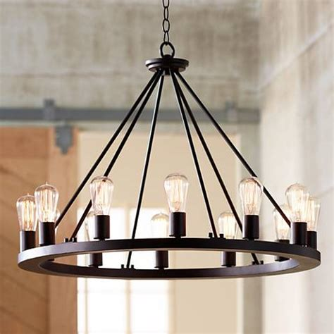 indian inspired light fixtures lacey 28 quot wide round black chandelier w7307 ls plus