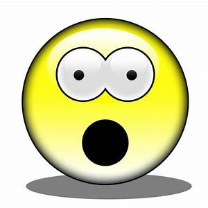 Shocked Face Smiley - ClipArt Best