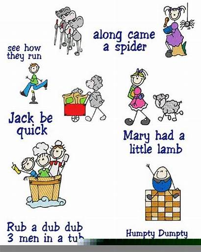 Clipart Nursery Rhymes Mother Goose Clip Clker