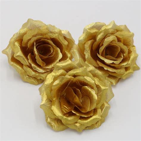 cheap black  gold silk flowers find black  gold