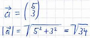 Vektoren Berechnen Online : betrag eines vektors ~ Themetempest.com Abrechnung