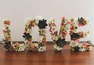 best 25 flower letters ideas on pinterest letter With foam letters for flowers
