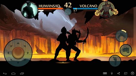 shadow fight 2 vs volcano 1080p 60fps