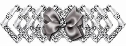 Ribbon Dividers Silver Glitter Could Paradise Stars
