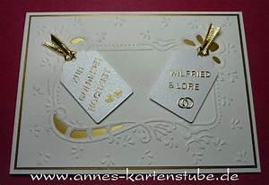 Karte Zur Hochzeit : annes kartenstube karte zur goldenen hochzeit ~ A.2002-acura-tl-radio.info Haus und Dekorationen