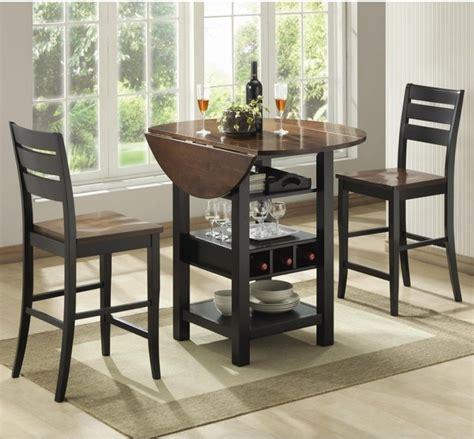 ridgewood 3 pc counter height drop leaf dining set