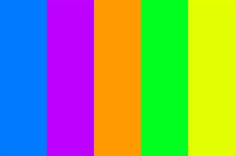 vibrant color vibrant colors color palette