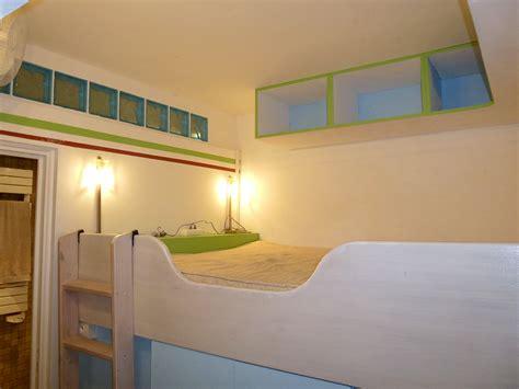 chambre cabine l 39 appartement bleu en images villa u pozzu location