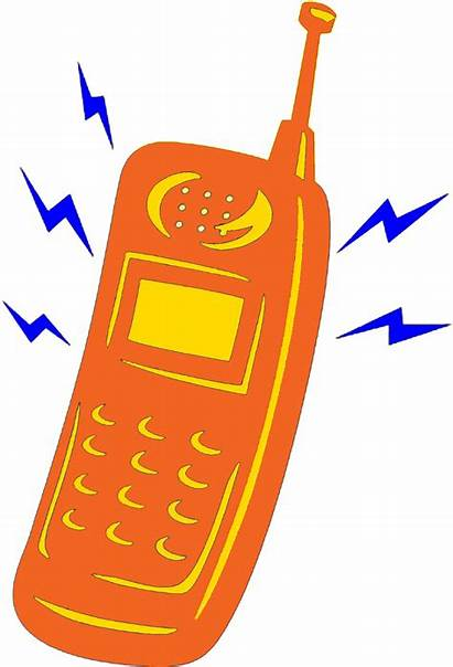 Ringing Phone Clipart Cell Telephone Animation Cliparts