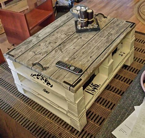 chaise romaine fait maison pallet coffee table 1001 pallets