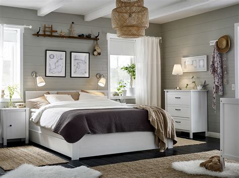 rangement de chambre a coucher espaces élégants chambre à coucher ikea