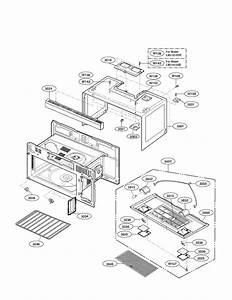 Oven Cavity Parts Diagram  U0026 Parts List For Model Lmv1813sb